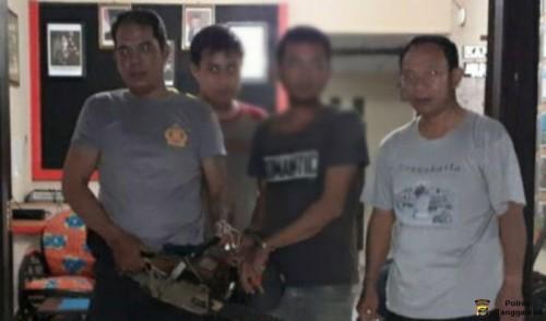 Polsek Wonosobo Tangkap Seorang Pelaku Pembalakan Liar Kayu Sonokeling di Register 39