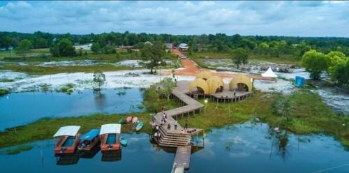 Wisata Rumah Keong Dan Reflika Laskar Pelangi Jadi Objek Wisatawan